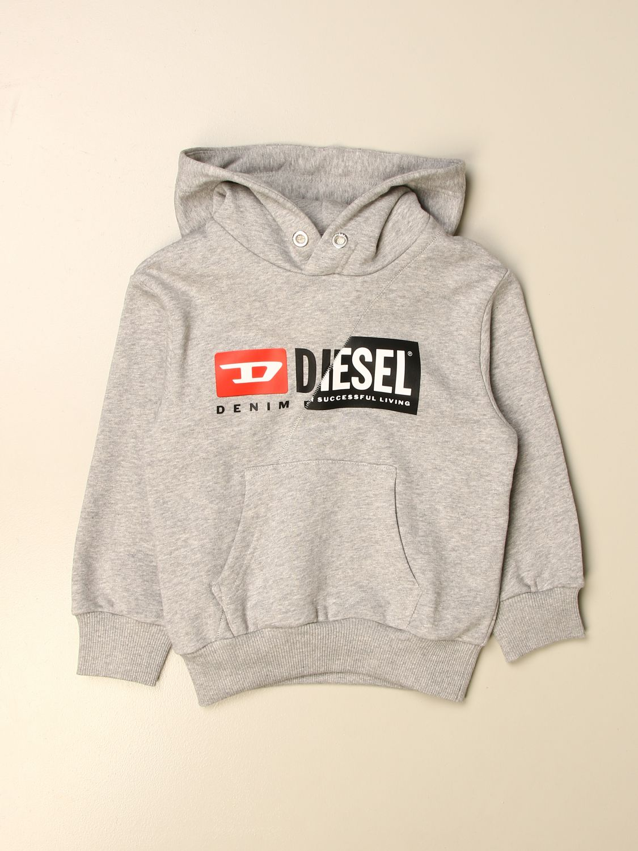 Jersey Diesel: Jersey niños Diesel gris 1