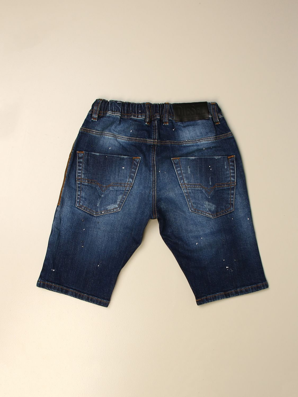 Pantalón corto Diesel: Pantalón corto niños Diesel denim 2