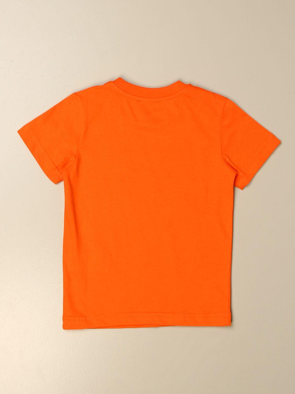 Camiseta Diesel: Camiseta niños Diesel naranja 2