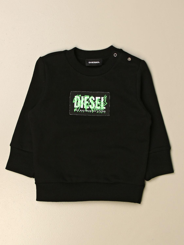 Jersey Diesel: Jersey niños Diesel negro 1