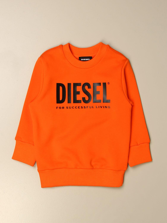 Jersey Diesel: Jersey niños Diesel naranja 2