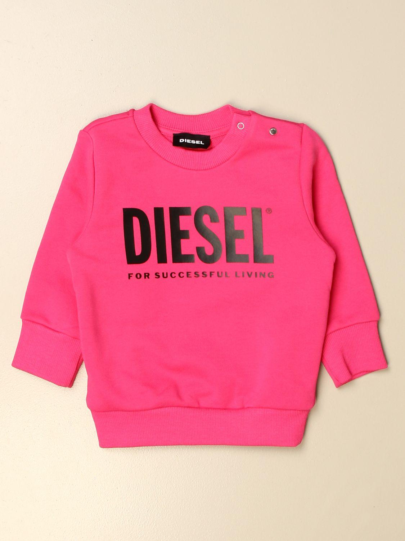 Jersey Diesel: Jersey niños Diesel fucsia 1