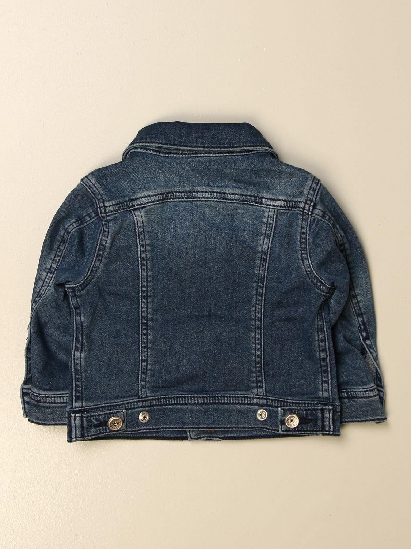 Giacca Diesel: Giacca di jeans Diesel in denim used denim 2