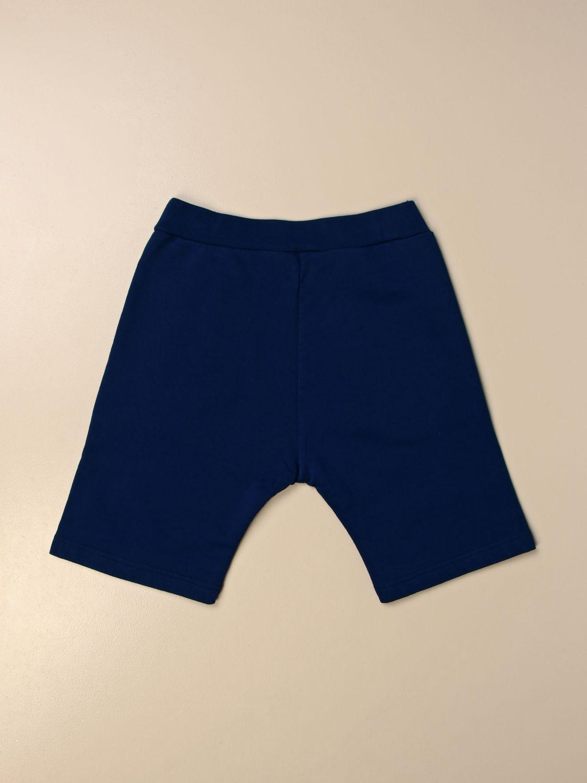 Pantaloncino Dsquared2 Junior: Pantaloncino jogging Dsquared2 Junior con logo royal 2