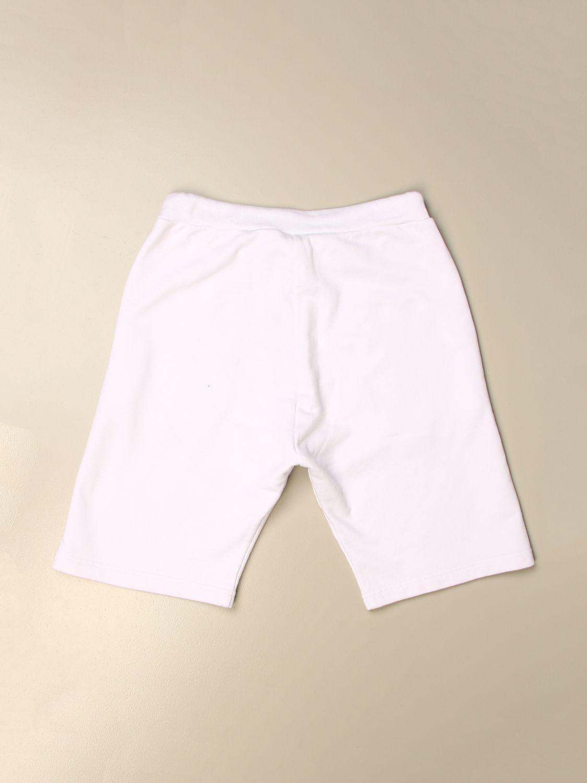 Pantaloncino Dsquared2 Junior: Pantaloncino jogging Dsquared2 Junior con logo bianco 2