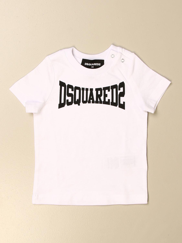 T恤 Dsquared2 Junior: T恤 儿童 Dsquared2 Junior 白色 1