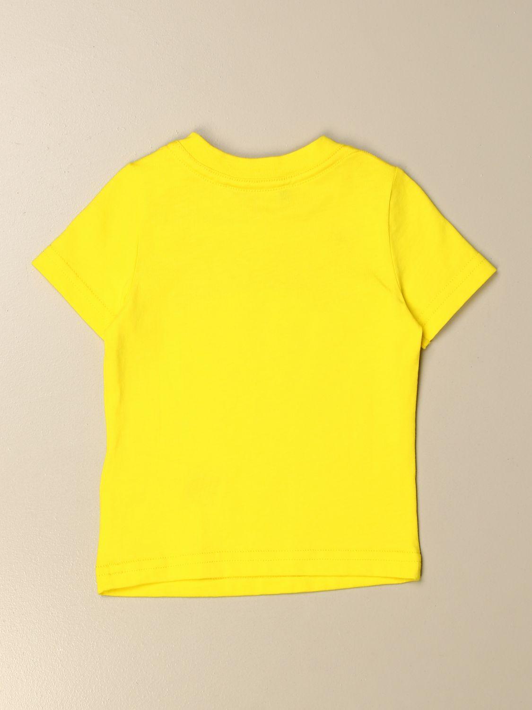 T-shirt Dsquared2 Junior: T-shirt Dsquared2 Junior in cotone con logo giallo 2