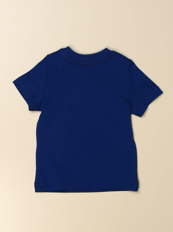 T-shirt Dsquared2 Junior: T-shirt Dsquared2 Junior in cotone con logo royal 2