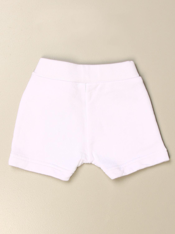 Pantaloncini Dsquared2 Junior: Pantaloncino jogging Dsquared2 Junior con logo bianco 2