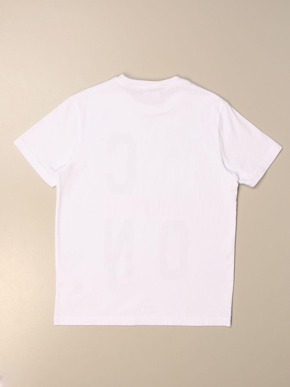 Camiseta Dsquared2 Junior: Camiseta niños Dsquared2 Junior blanco 2