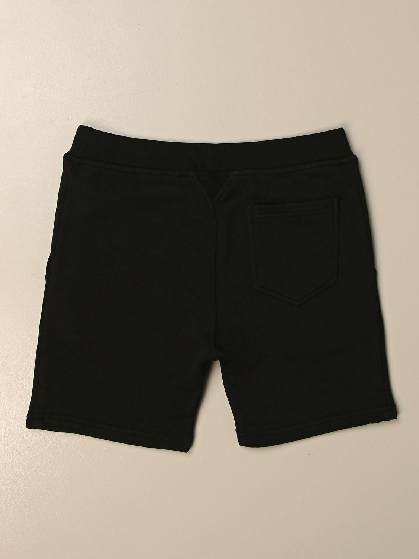 Pantaloncino Dsquared2 Junior: Pantaloncino jogging Dsquared2 Junior in cotone nero 2