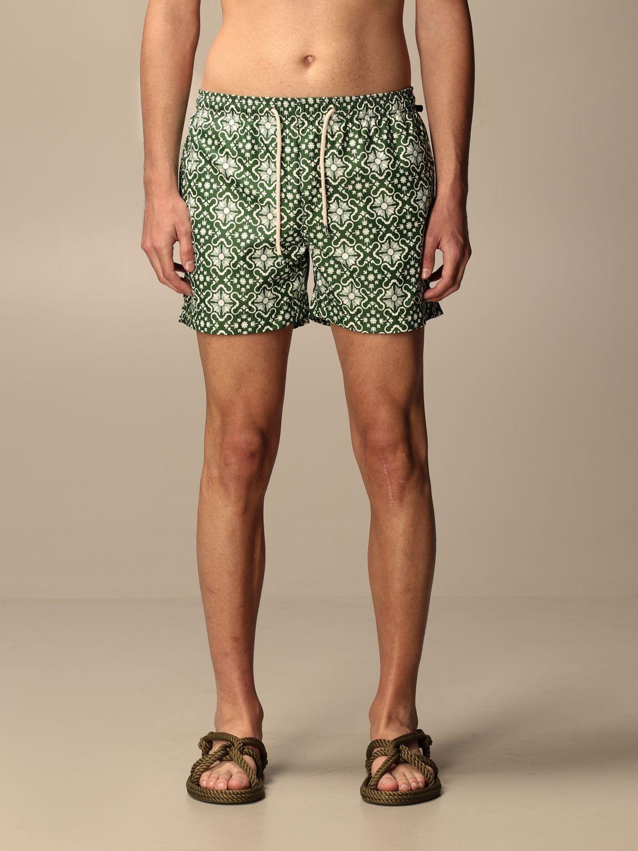 Swimsuit Peninsula: Peninsula patterned boxer costume green 1