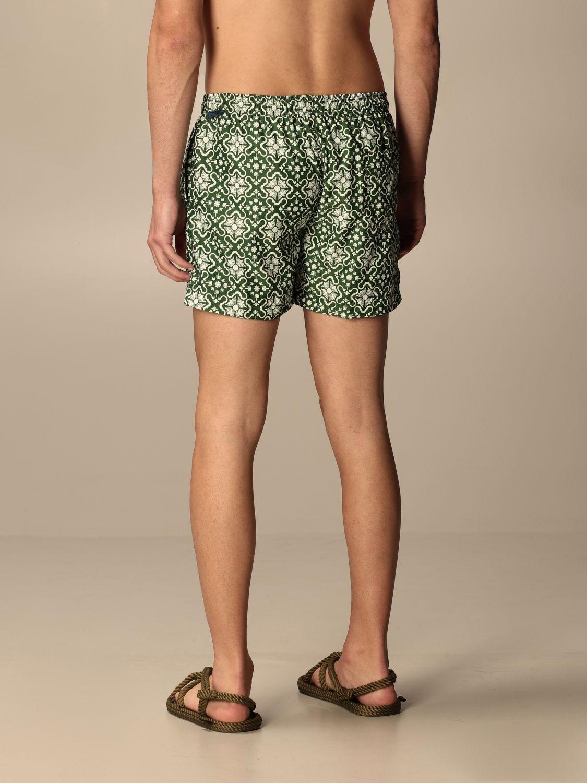 Swimsuit Peninsula: Peninsula patterned boxer costume green 2