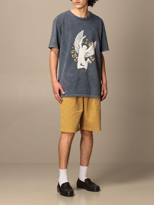 T-shirt Paura Di Danilo Paura: T-shirt homme Paura Di Danilo Paura bleu marine 2