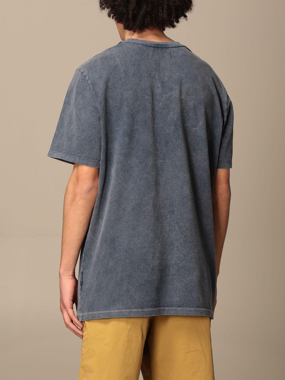 T-shirt Paura Di Danilo Paura: T-shirt homme Paura Di Danilo Paura bleu marine 3