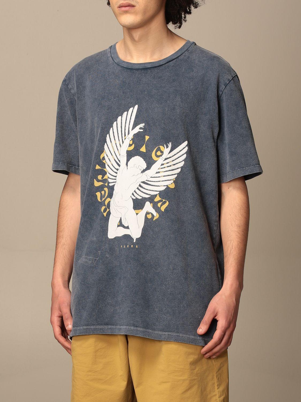 T-shirt Paura Di Danilo Paura: T-shirt homme Paura Di Danilo Paura bleu marine 4