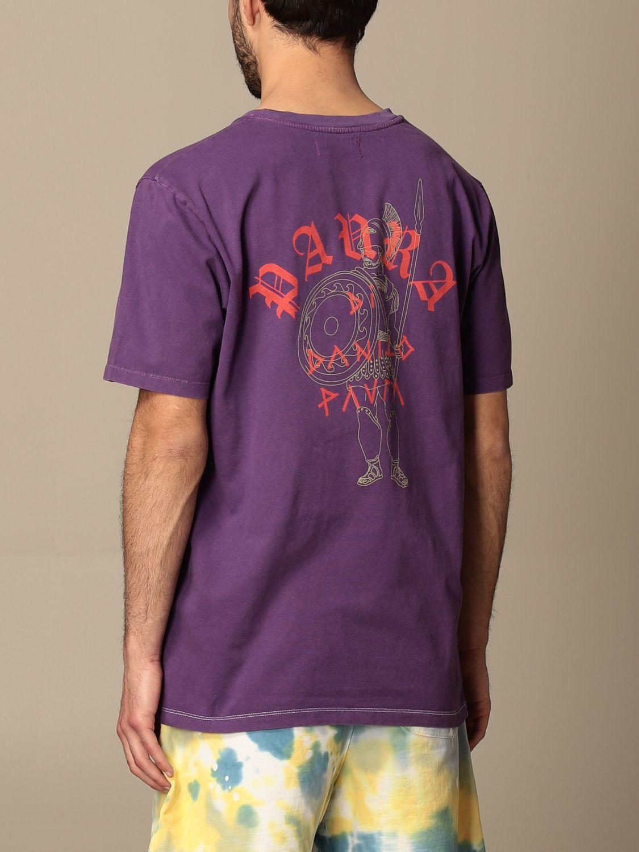 T-shirt Paura: T-shirt men Paura Di Danilo Paura violet 3