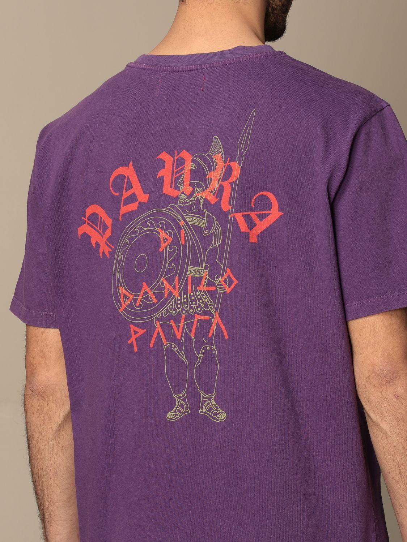 T-shirt Paura: T-shirt men Paura Di Danilo Paura violet 5