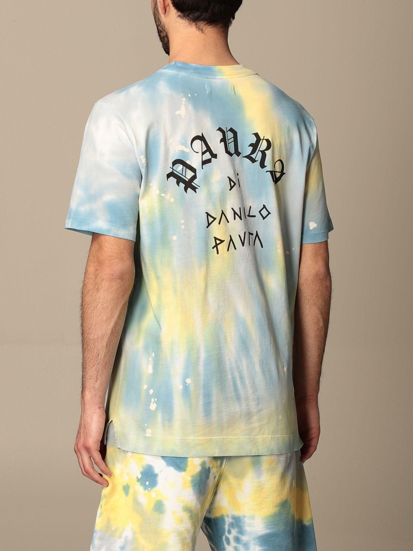 T-shirt Paura Di Danilo Paura: T-shirt homme Paura Di Danilo Paura bleu 3