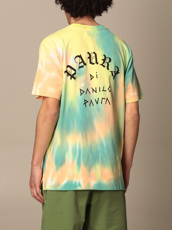 T-shirt Paura: T-shirt men Paura Di Danilo Paura yellow 3
