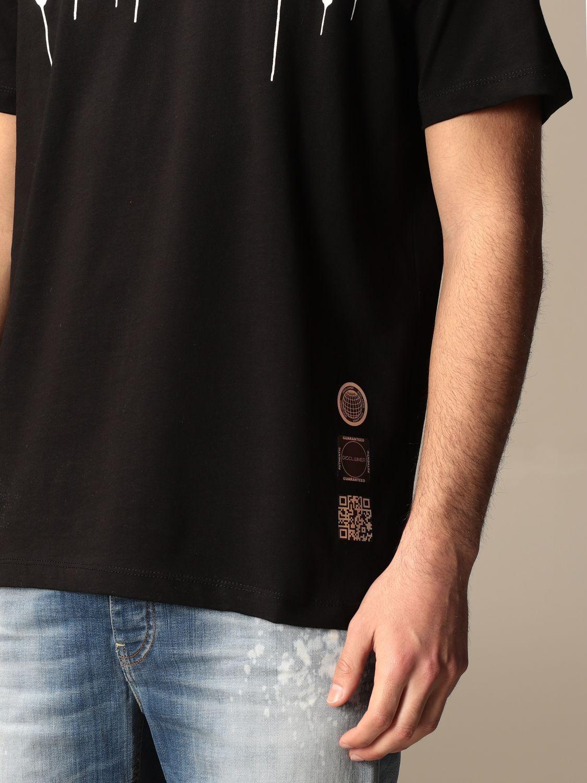T-shirt Disclaimer: T-shirt homme Dislaimer noir 3