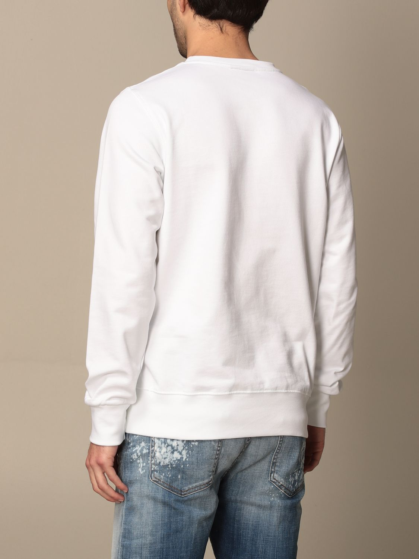 Sweatshirt Disclaimer: Sweatshirt homme Dislaimer blanc 2