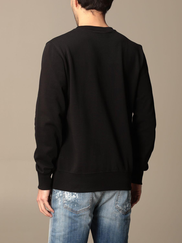 Sweatshirt Disclaimer: Sweatshirt homme Dislaimer noir 2