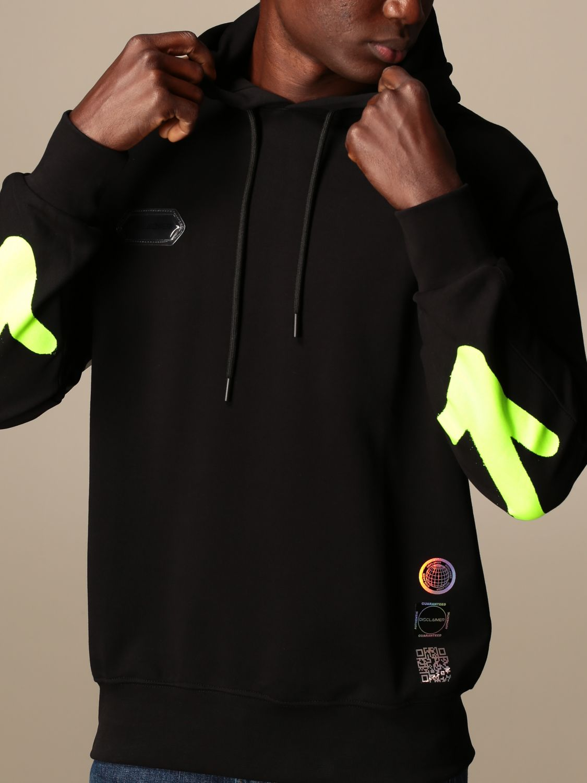 Sweatshirt Disclaimer: Sweatshirt homme Dislaimer noir 1 3