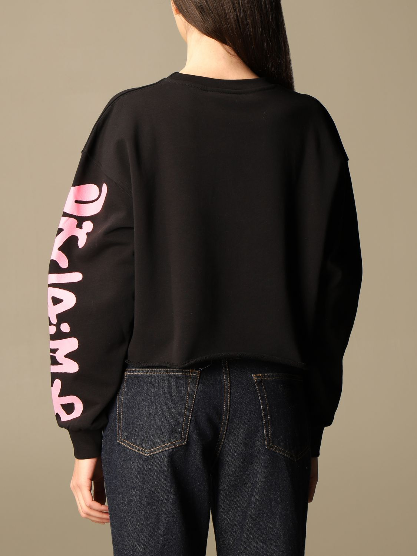 Sweat-shirt Disclaimer: Sweat-shirt femme Dislaimer noir 2