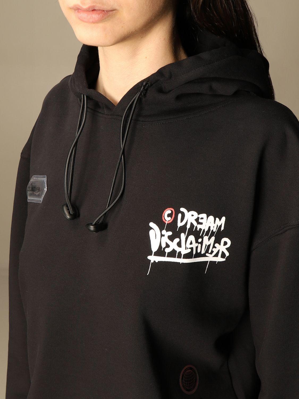 Sweat-shirt Disclaimer: Sweat-shirt femme Dislaimer noir 3