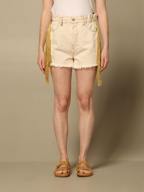 Shorts Cycle: Shorts damen Cycle beige 1