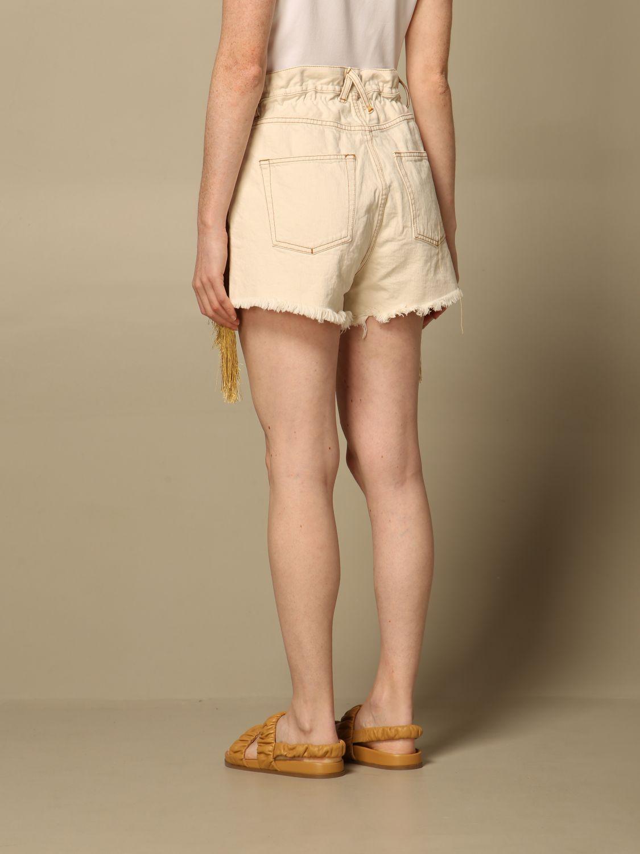 Shorts Cycle: Shorts damen Cycle beige 2