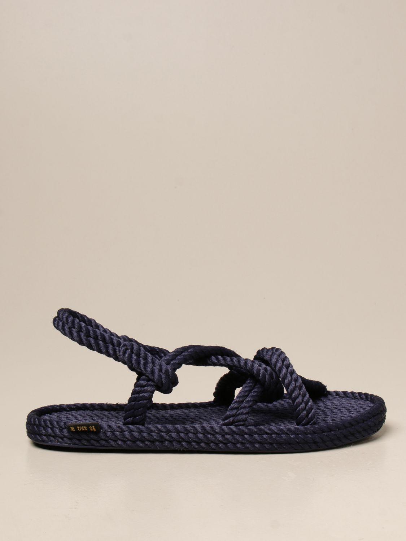 Sandali Bohonomad: Sandalo Bohonomad in corda blue 1