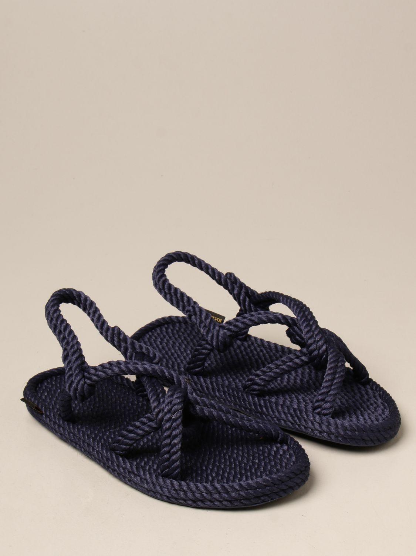 Sandali Bohonomad: Sandalo Bohonomad in corda blue 2
