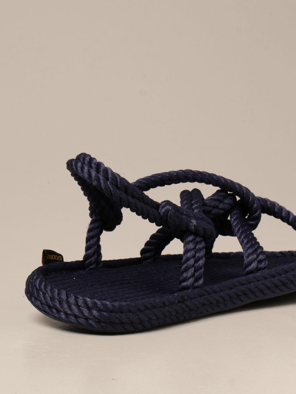 Sandali Bohonomad: Sandalo Bohonomad in corda blue 3