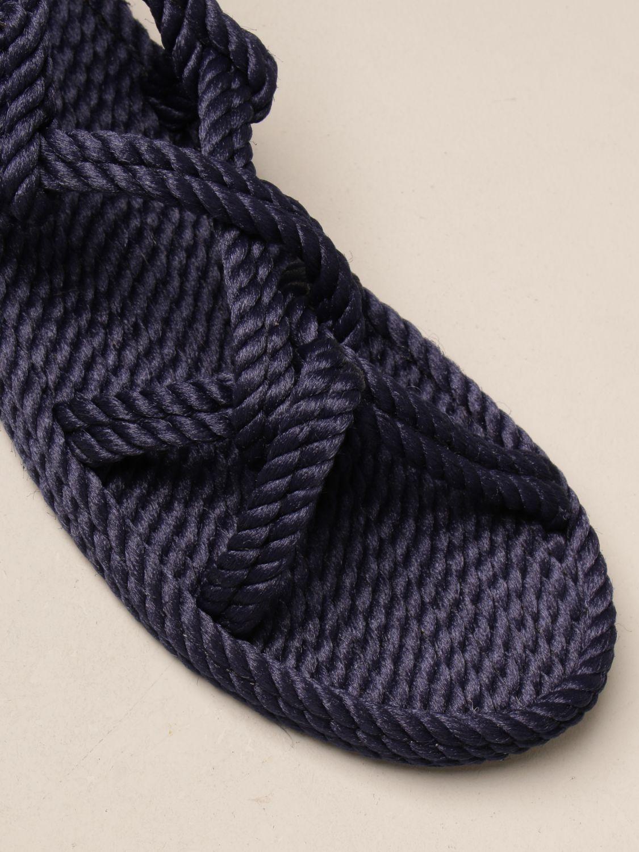 Sandali Bohonomad: Sandalo Bohonomad in corda blue 4
