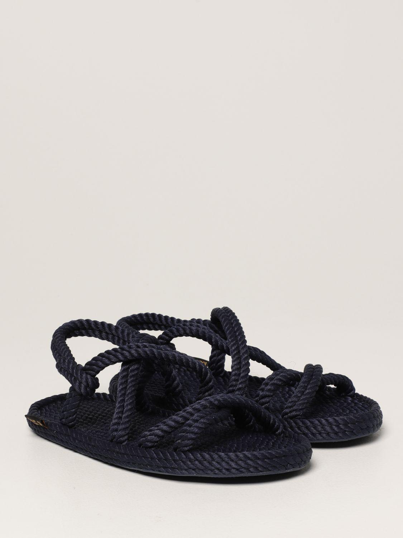 Sandales Bohonomad: Chaussures homme Bohonomad bleu 2
