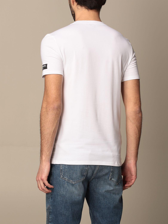 T-shirt Balmain: Balmain cotton t-shirt with logo white 3