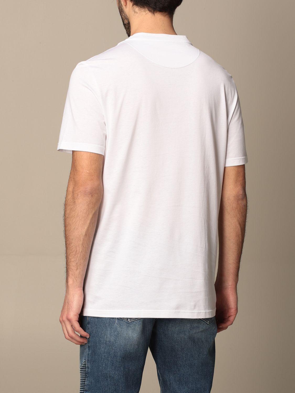 T-shirt Balmain: T-shirt Balmain in cotone con logo bianco 3