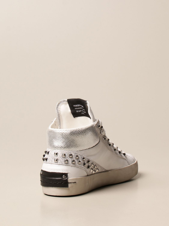 Sneakers Crime London: Shoes women Crime London white 3