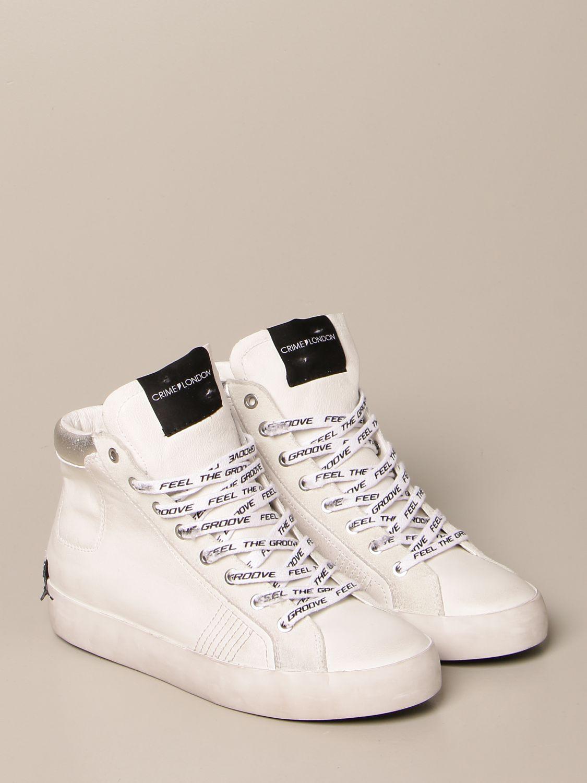 Sneakers Crime London: Schuhe damen Crime London weiß 2