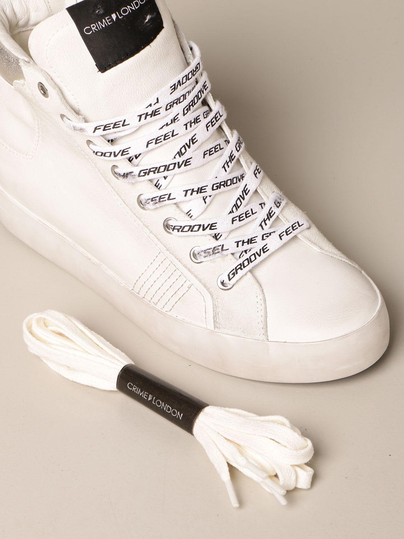 Sneakers Crime London: Schuhe damen Crime London weiß 4