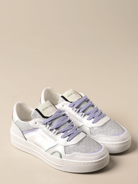 Sneakers Crime London: Shoes women Crime London white 2