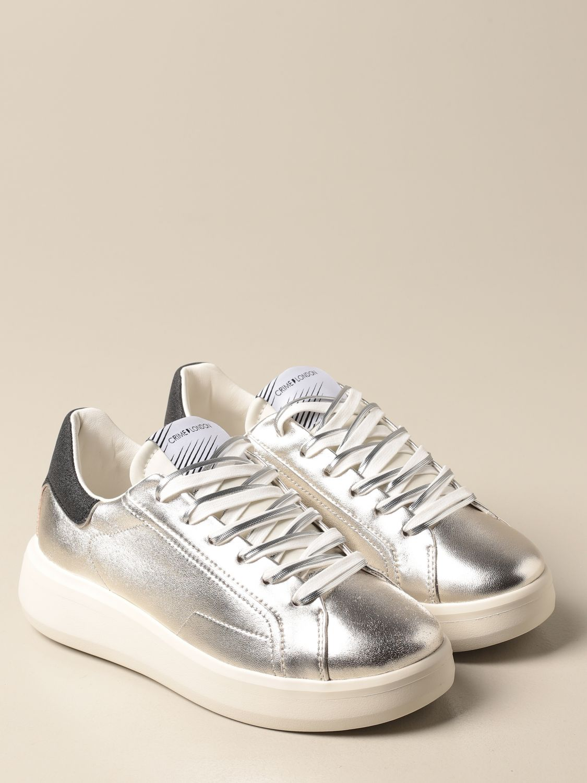 Sneakers Crime London: Schuhe damen Crime London silber 2