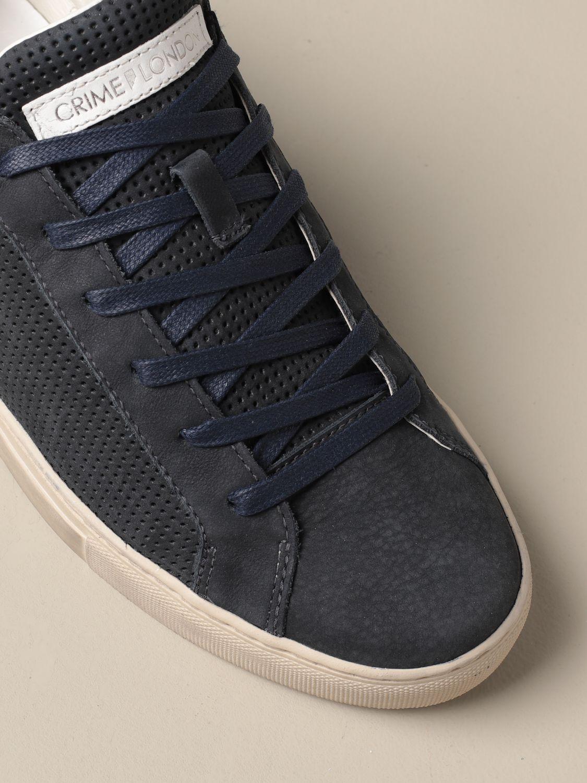 Sneakers Crime London: Schuhe herren Crime London blau 4