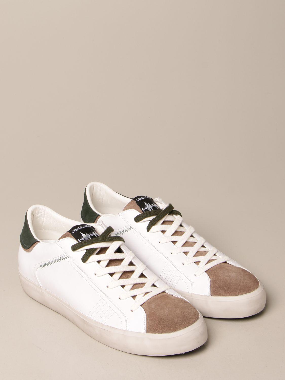 Sneakers Crime London: Shoes men Crime London white 2