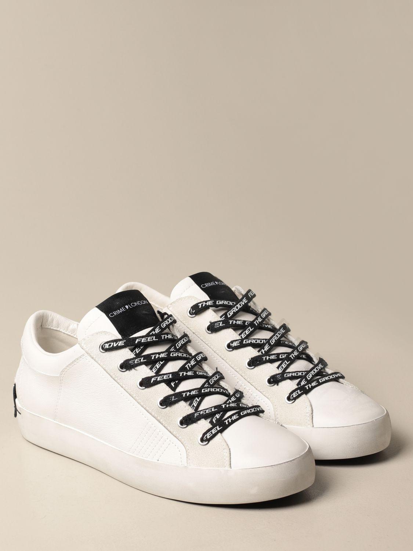 Sneakers Crime London: Schuhe herren Crime London weiß 2