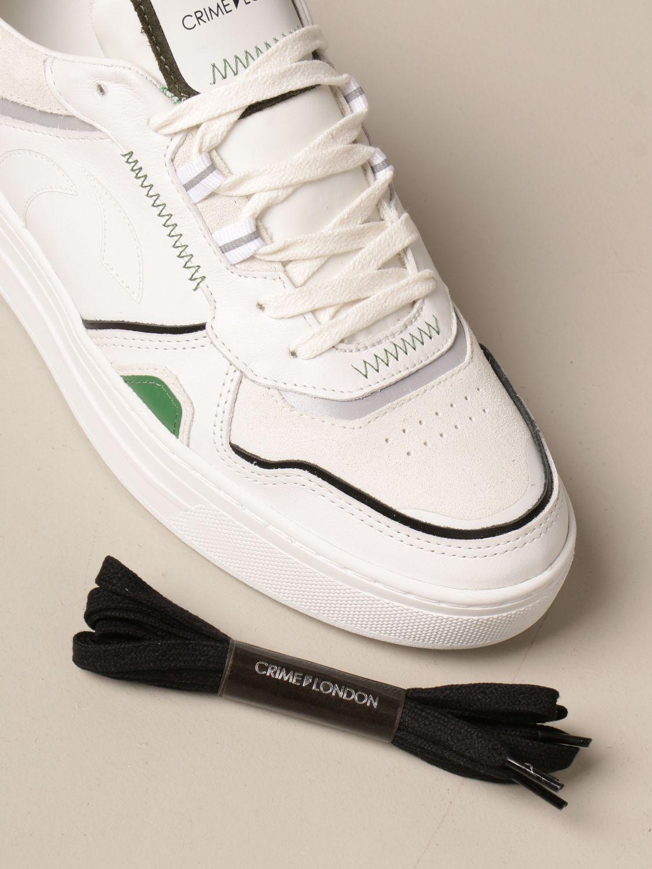 Sneakers Crime London: Schuhe herren Crime London weiß 4