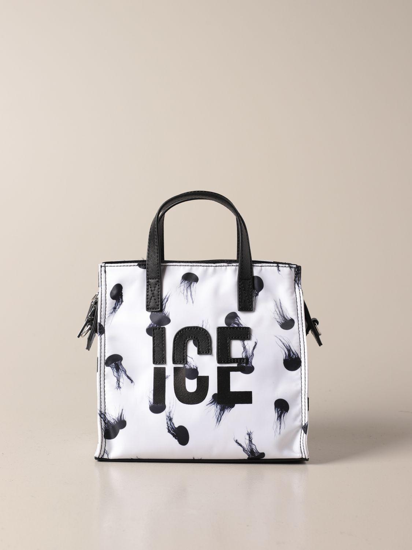 Сумка-тоут Ice Play: Наплечная сумка Женское Ice Play белый 1