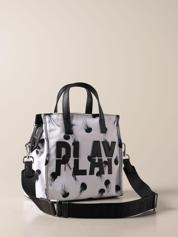 Сумка-тоут Ice Play: Наплечная сумка Женское Ice Play белый 2
